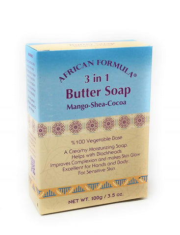 African Formula 3-In-1 Butter Soap 3.5 oz