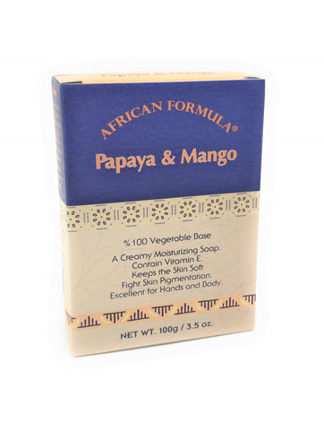 African Formula Papaya & Mango Soap 3.5 oz