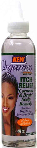 Organics by Africa's Best Itch Relief Cornrow & Braid Scalp Remedy 6 oz.