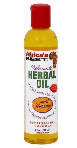 Africa's Best Ultimate Herbal Oil 8 oz.