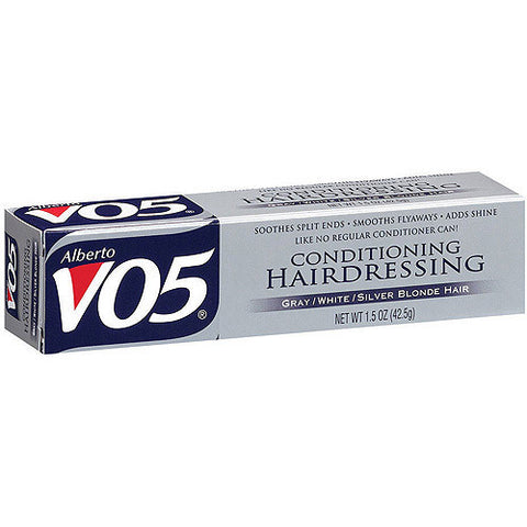 Alberto VO5 Conditioning Hairdressing Gray, White & Silver Blonde Hair 1.5 Oz.