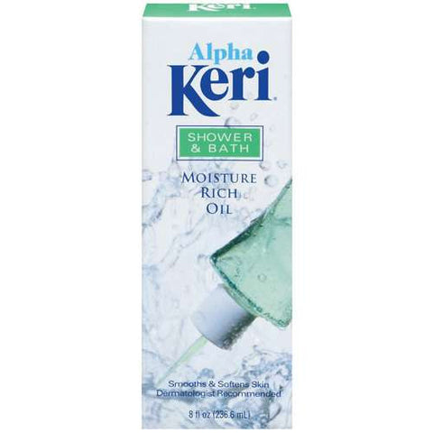 Alpha Keri Shower & Bath Moisture Rich Oil 8 oz