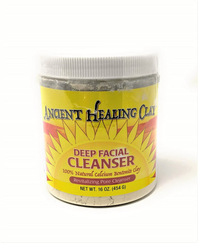 Ancient Healing Clay Deep Facial Cleanser 16 oz