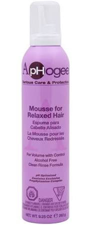 ApHOGEE Styling Mousse For Relaxed Hair 9.25 oz