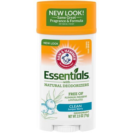 Arm & Hammer Essentials Solid Deodorant Clean Juniper Berry 2.5 oz