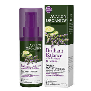 Avalon Organics Brilliant Balance Daily Moisturizer 2 oz