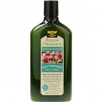 Avalon Organics Conditioner Scalp Treatment Tea Tree 11 oz