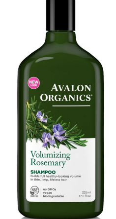 Avalon Organics Volumizing Rosemary Shampoo 11 oz