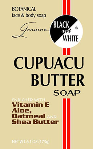 Black & White Cupuacu Butter Soap 6.1 oz