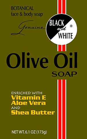 Black & White Olive Oil Soap 6.1 oz
