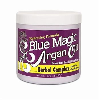 Blue Magic Argan Oil Herbal Complex Leave-In Conditioner 13.75 oz
