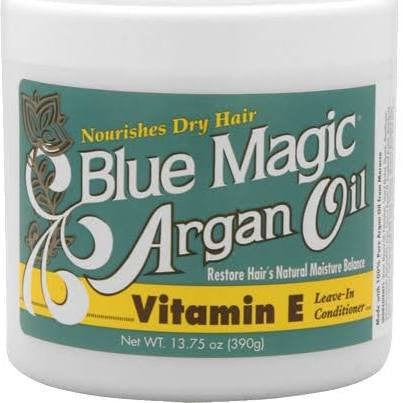 Blue Magic Argan Oil Vitamin E Leave-In Conditioner 13.75 oz