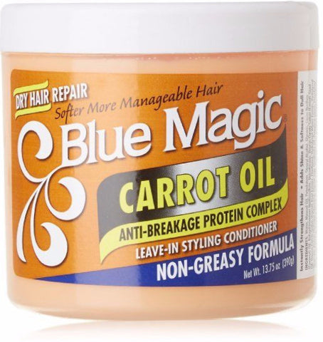 Blue Magic Carrot Oil Leave-In Styling Conditioner 13.75 oz