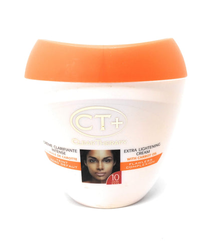 CT+ Clear Therapy Extra Lightening Cream With Carrot Oil 400 ml