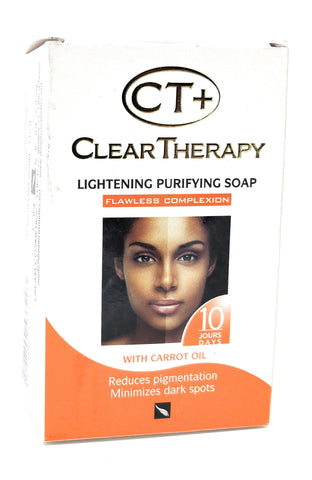 CT+ Clear Therapy Lightening Purifying Soap With Carrot Oil 175 g