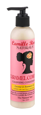 Camille Rose Naturals Caramel CoWash Cleansing Conditioner 8 oz