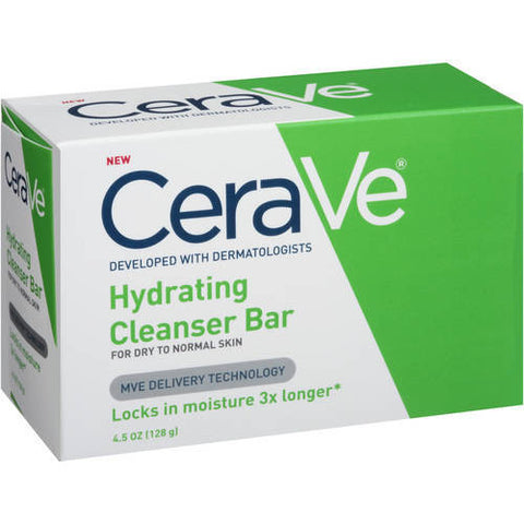 CeraVe Hydrating Cleanser Bar 4.5 oz