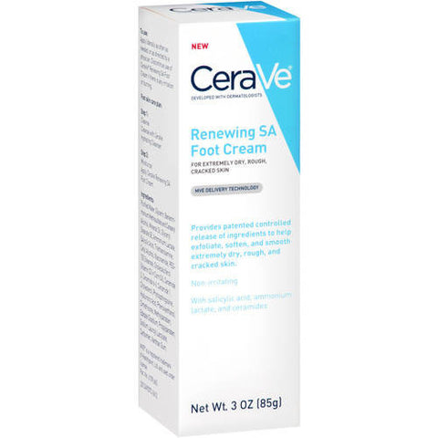 CeraVe Renewing SA Foot Cream 3 oz