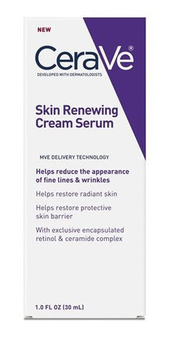 Cerave Skin Renewing Cream Serum 1 oz