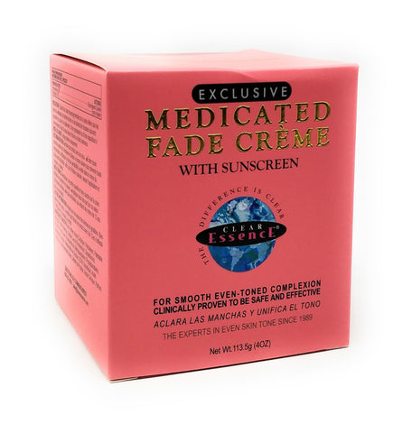 Clear Essence Exclusive Medicated Fade Creme with Sunscreen 4 oz