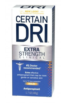 Clinical Dri Extra Strength Clinical Solid Antiperspirant 1.7 oz