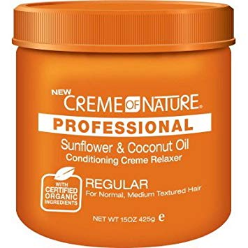 Creme of Nature Professional Sunflower & Coconut Oil Creme Relaxer Regular 15 oz
