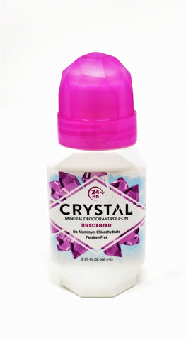 Crystal Mineral Deodorant Roll-On Unscented 2.25 oz