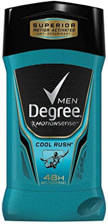 Degree Men MotionSense Antiperspirant Deodorant Cool Rush 2.7 oz