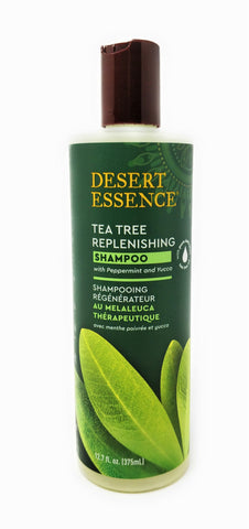Desert Essence Tea Tree Replenishing Shampoo 12.7 oz