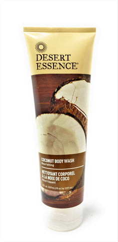 Desert Essence Coconut Body Wash 8 oz