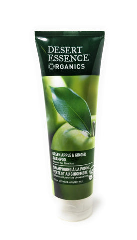 Desert Essence Organics Green Apple & Ginger Shampoo 8 oz