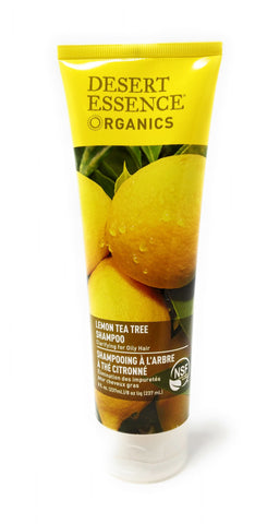 Desert Essence Organics Lemon Tea Tree Shampoo 8 oz