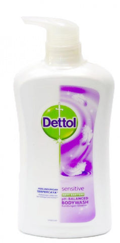 Dettol Sensitive Anti-Bacteri Body Wash 625 ml