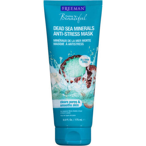 Freeman Feeling Beautiful Dead Sea Minerals Anti-Stress Mask 6 oz