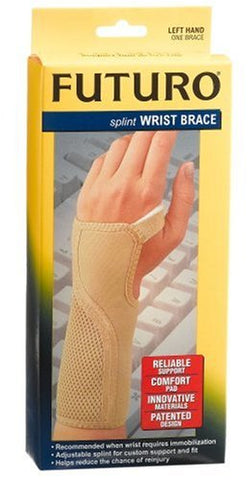 Futuro Splint Wrist Brace Medium Left Hand One Brace