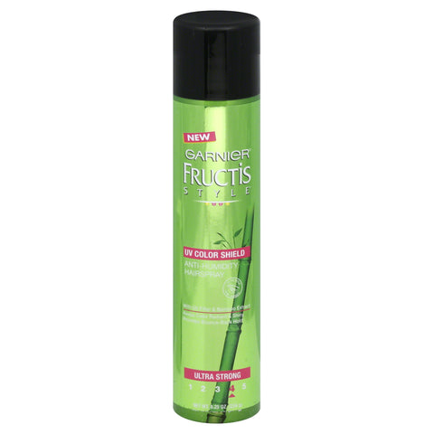 Garnier Fructis Style Anti-Humidity Hairspray UV Color Shield Ultra Strong 8.25 oz