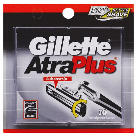 Gillette AtraPlus Cartridges 10 ea