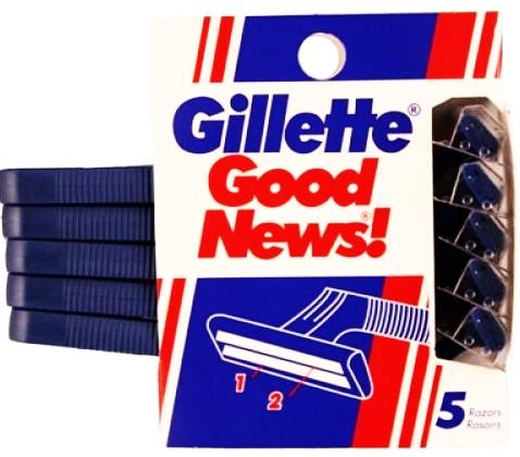 Gillette Good News Razors 5 ea