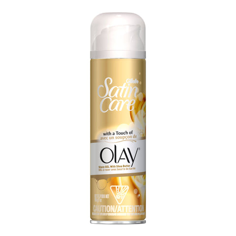 Gillette Satin Care with a Touch of Olay Shave Gel 7 oz