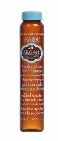 Hask Argan Oil From Morocco Healing Shine Hair Treatment 5/8 oz
