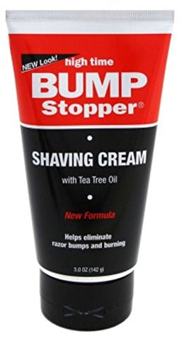High Time Bump Stopper Shaving Cream 5 oz
