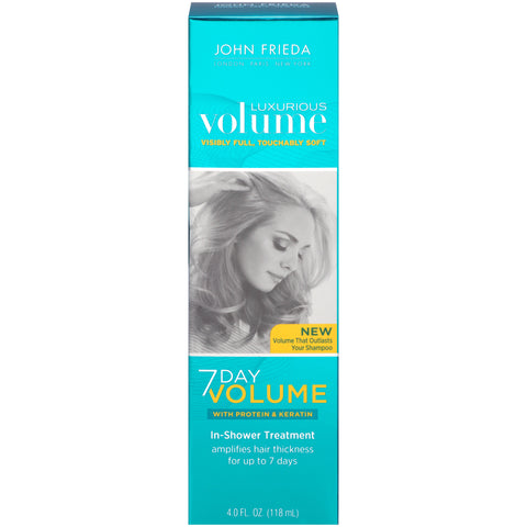John Frieda Luxurious Volume 7 Day Volume In-Shower Treatment 4 oz