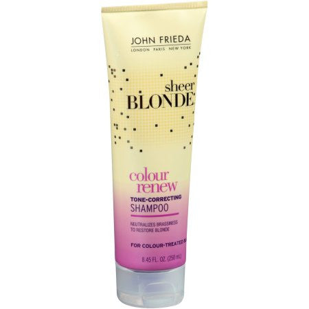 John Frieda Sheer Blonde Colour Renew Tone-Correcting Shampoo 8.45 oz