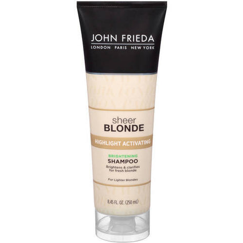 John Frieda Sheer Blonde Highlight Activating Brightening Shampoo 8.45 oz