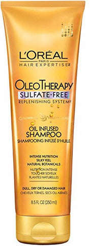 L'oreal Paris Hair Expertise OleoTherapy Oil Infused Shampoo 8.5 oz
