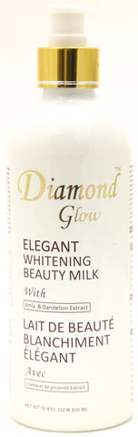 Diamond Glow Elegant Whitening Beauty Milk 16.8 oz.