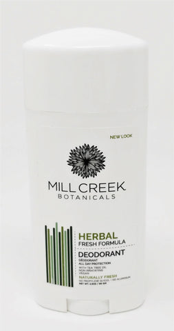 Mill Creek Botanicals Herbal Fresh Formula Deodorant 2.5 oz