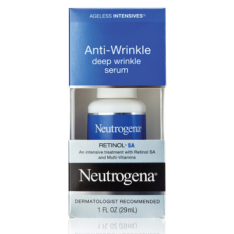 Neutrogena Ageless Intensives Anti-Wrinkle Deep Wrinkle Serum 1 oz