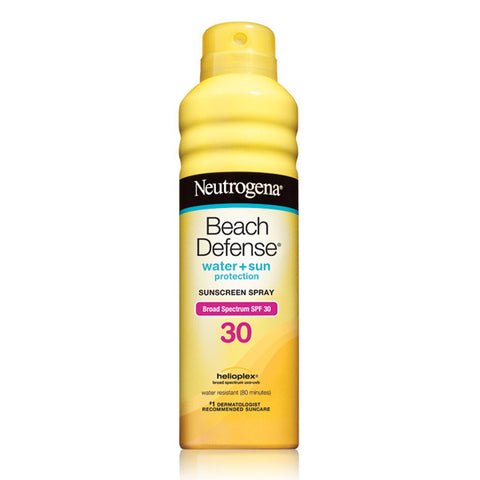 Neutrogena Beach Defense Sunscreen Spray Broad Spectrum SPF 30 6.5 oz