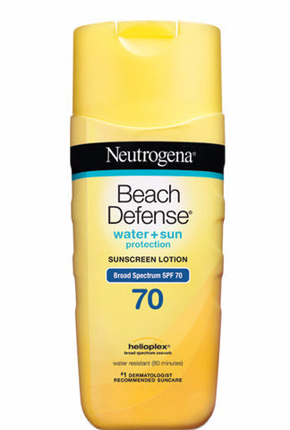 Neutrogena Beach Defense Water + Sun Protection Sunscreen Lotion SPF 70 6.7 oz